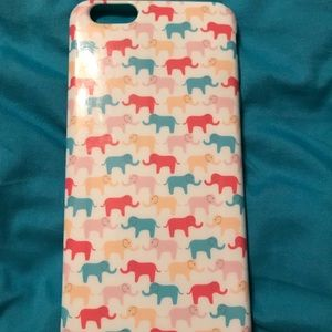 iPhone 6plus case with Elephant's (smaller ones)